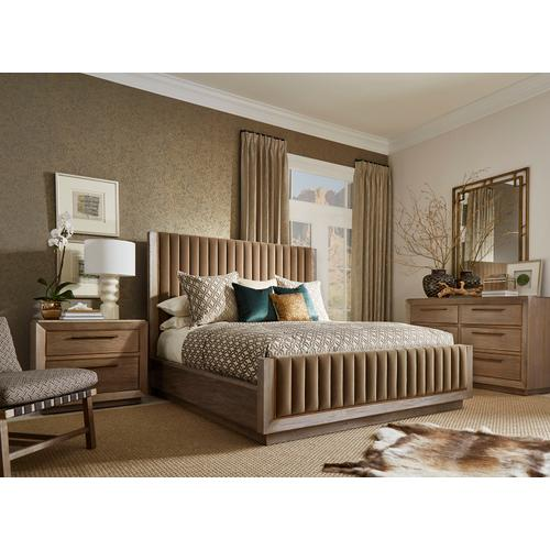 A.R.T. Furniture - Woodwright California King Mulholland Upholstered Bed