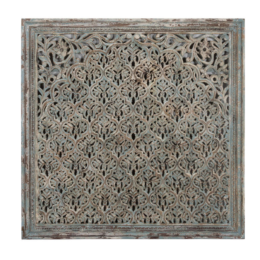 See Details - Cheval Wood Carved Panel 60\u0022