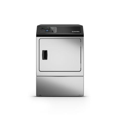 Speed Queen - DF7 Stainless Steel Gas Dryer with Front Control  5-Year Warranty