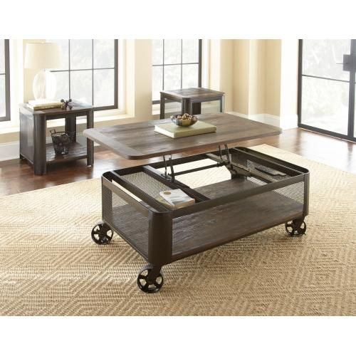 Gallery - Barrow Lift Top Cocktail Table w/ Casters