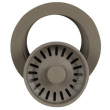 View Product - Titanium Disposer Flange Trim with Strainer Kitchen - For Granite Composite Sinks