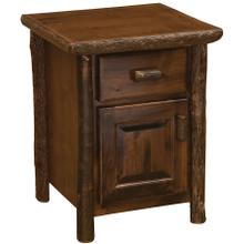 Enclosed Nightstand - Espresso
