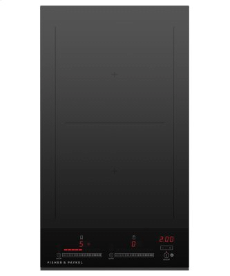 """Induction Cooktop, 12"""", 2 Zones, with SmartZone"""