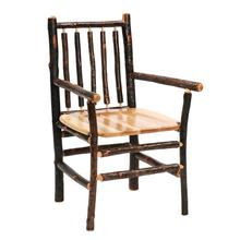 Spoke Arm Chair - Natural Hickory - Wood seat