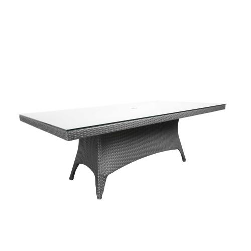 "Solano 112"" x 46"" Rectangular Dining Table"