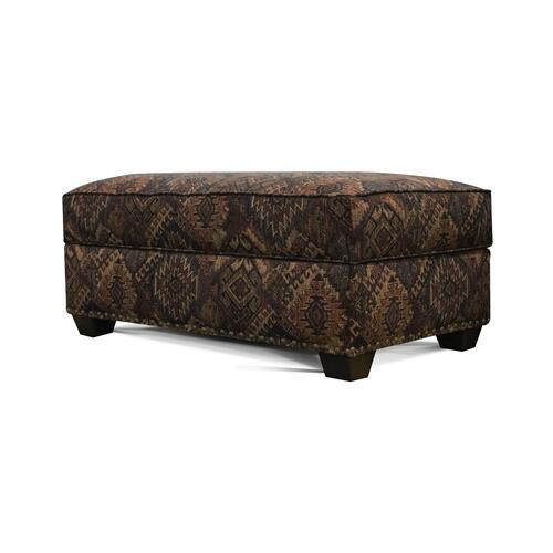 V22081N Storage Ottoman with Nails