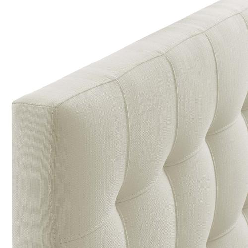 Modway - Lily Twin Upholstered Fabric Headboard in Ivory