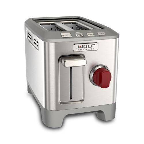 2 Slice Toaster - Red Knob
