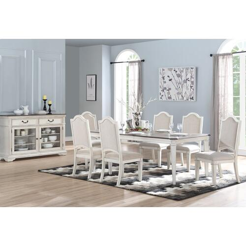 Anastasia Table with 6 Chairs