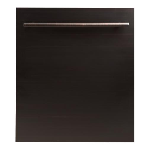 """ZLINE 24"""" Dishwasher Panel with Traditional Handle [Color: Stainless Steel]"""