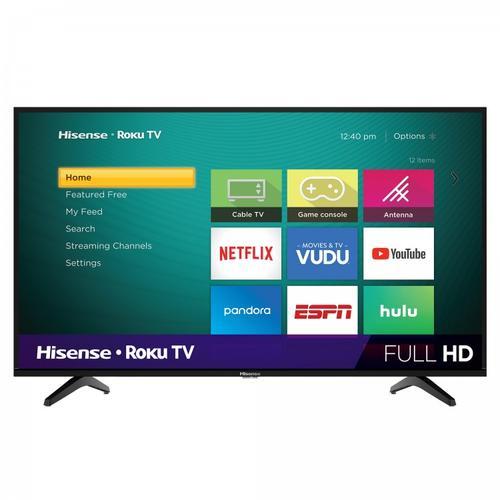 "43"" Class - H4 Series - Full HD Hisense Roku TV SUPPORT"