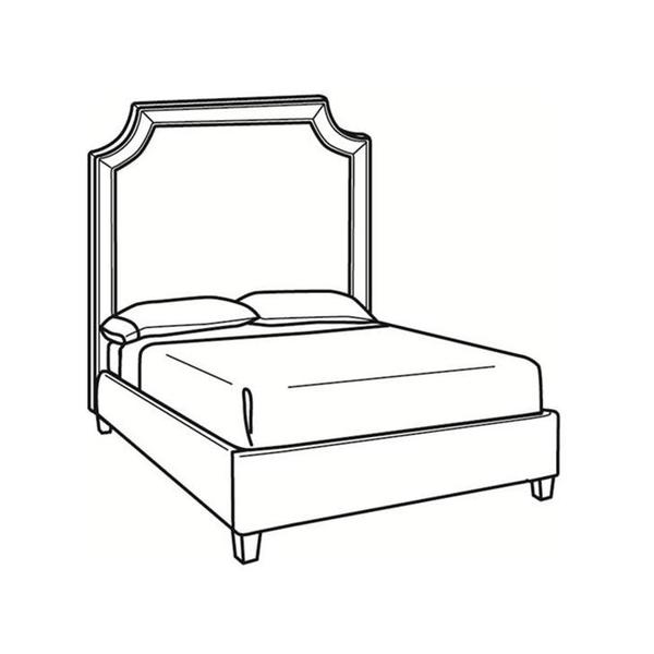 See Details - King Bed with Tall Headboard