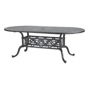 """Gensun Casual Living - Grand Terrace 42"""" x 86"""" Oval Dining Table"""