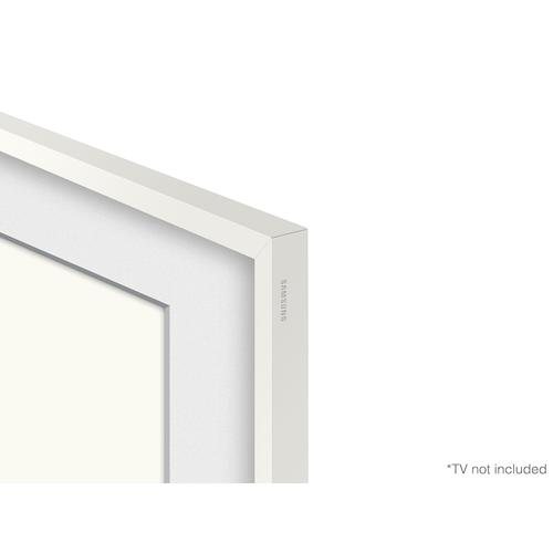 "(2021) 65"" The Frame Customizable Bezel - Modern White"