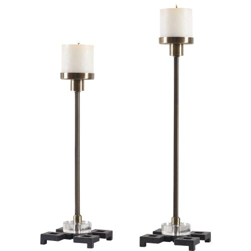 Montag Candleholders, S/2
