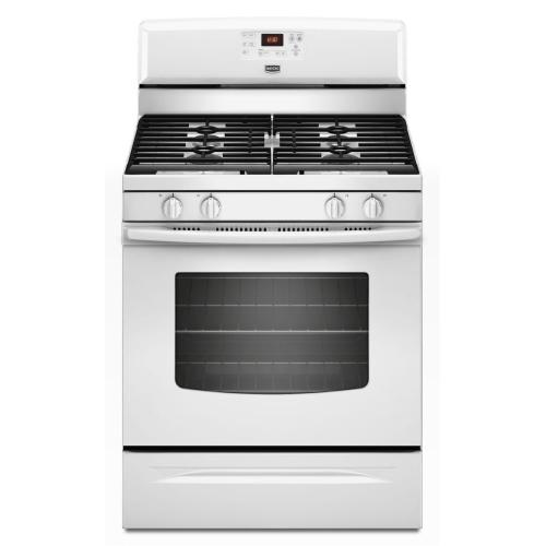 Maytag - 5.0 cu. ft. Capacity Gas Range with Two Power Cook Burners- IN STORE ONLY (FLOOR MODEL)