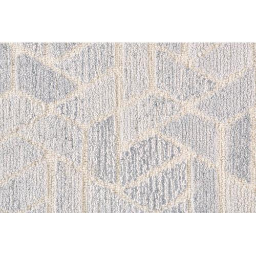 Feizy - ASHER 8767F IN LIGHT GRAY-NATURAL