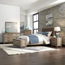 Queen Storage Bed, Dresser & Mirror, Chest, Night Stand