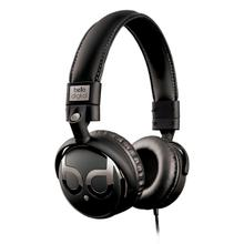 See Details - Black and Dark Chrome over-the-head headphones by Bell'O Digital