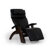 Perfect Chair ® PC-LiVE™ - Black Premium Leather - Dark Walnut