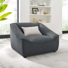 Comprise Armchair in Charcoal