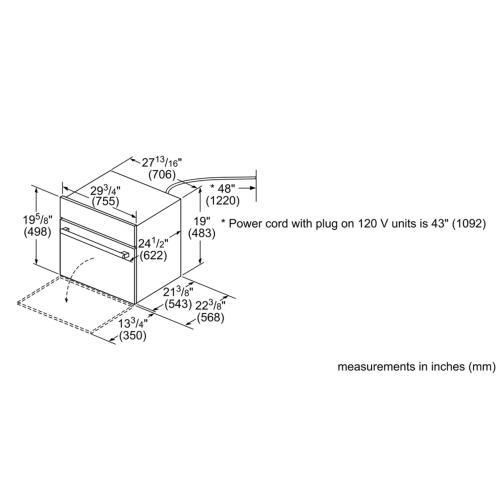 Benchmark® Series - Stainless Steel HBLP751UC HBLP751UC