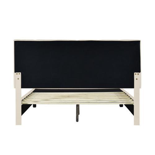 Accentrics Home - Queen Storage Bed in Linen