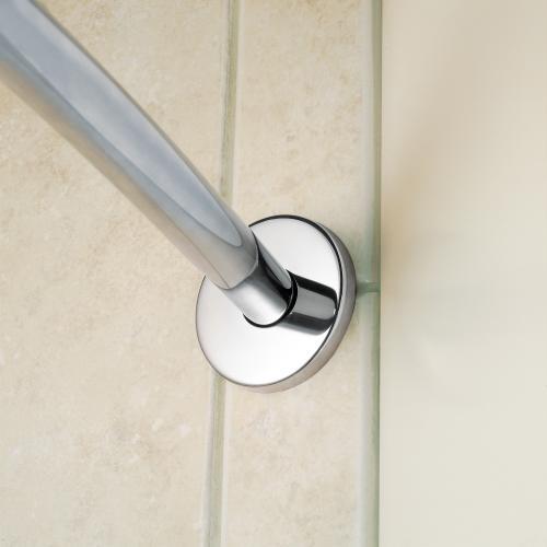 Curved Shower Rods Brushed nickel 5' curved shower rod