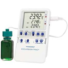 Traceable Excursion-Trac Data Logging Thermometer with Calibration: 1 Bottle Probe