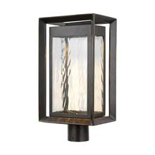 Urbandale LED Post Lantern Antique Bronze Bulbs Inc