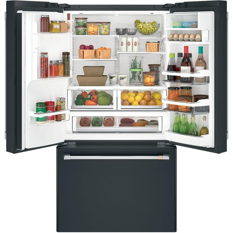 Café ENERGY STAR ® 27.8 Cu. Ft. Smart French-Door Refrigerator with Hot Water Dispenser