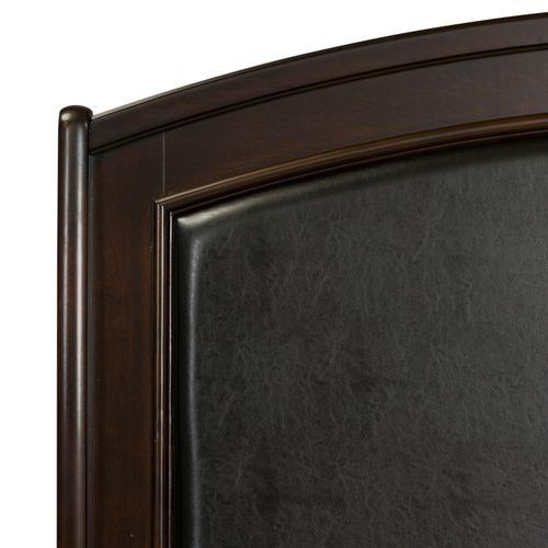 Queen Panel Leather Headboard