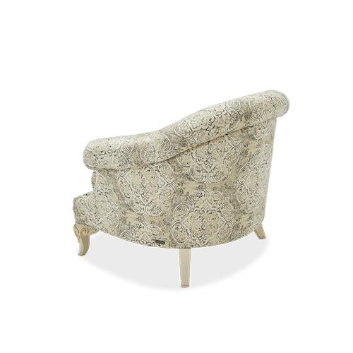 Chateau de Lago Barrel Chair Blanc