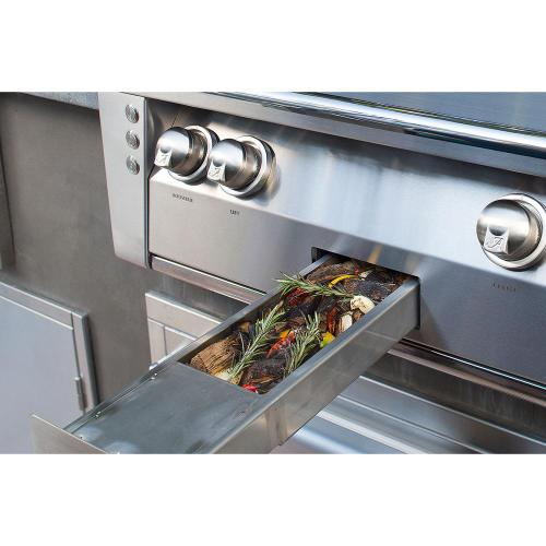 """Alfresco - 42"""" Sear Zone Grill with Deluxe Cart"""