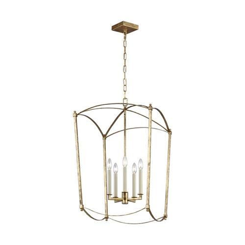 Thayer Large Lantern Antique Gild