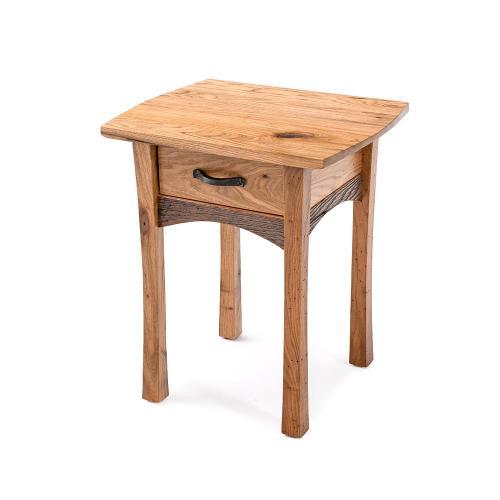 Hampton Heath 1 Drawer End Table