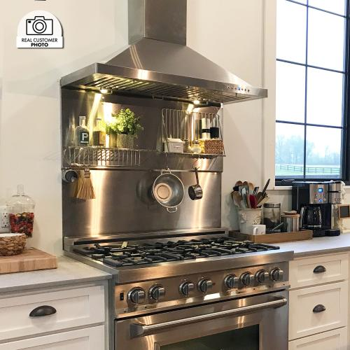 ZLINE Convertible Vent Wall Mount Range Hood in Stainless Steel (KB) [Size: 48 Inch]