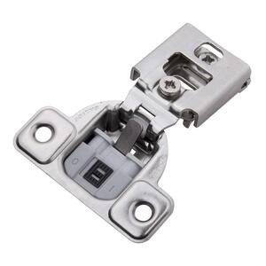 Soft Close 3/4 In. Overlay Face Frame Polished Nickel Hinge Product Image