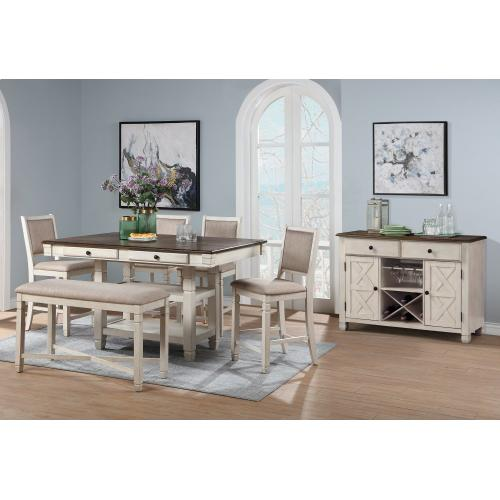 Gallery - Prairie Point Dining Bench
