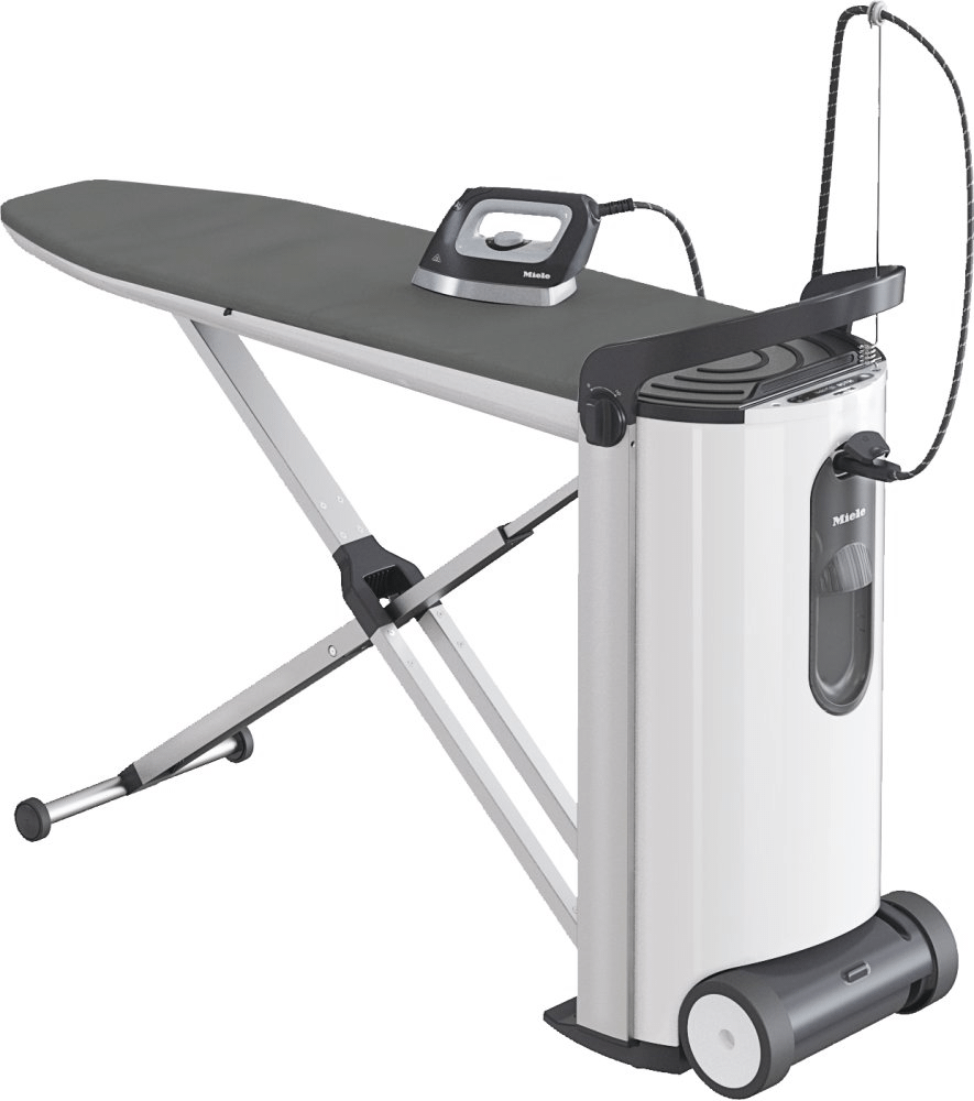 MieleB 3312 Fashionmaster - Steam Ironing System With Display And Honeycomb Soleplate For Optimum Smoothing.