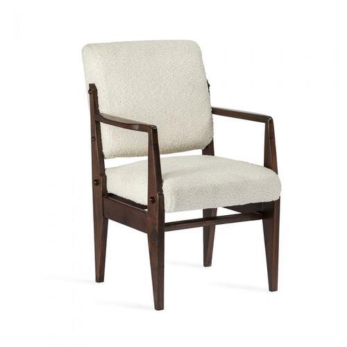 Hale Arm Chair - Dark Walnut