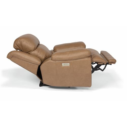 Flexsteel - Elijah Power Recliner with Power Headrest and Lumbar