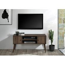 """See Details - 2023 DARK WALNUT Faux Wood TV Stand - 47"""" L"""