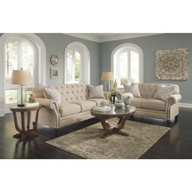 Kieran Sofa & Loveseat Natural