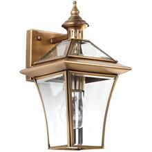 Virginia Single Light Sconce - Brass Lamp