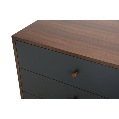 Nova Domus Dali Modern Grey & Walnut Bedroom Set