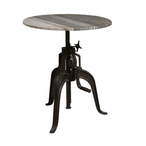 Industrial Bluestone Bar Adjustable Table Base