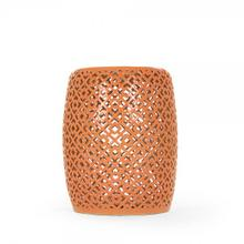 Lorin Garden Stool Orange