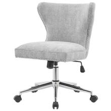 Hazel KD Fabric Office Chair, Smash Gray