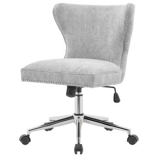 See Details - Hazel KD Fabric Office Chair, Smash Gray